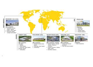 Wacker Neuson Production Plants Worldwide